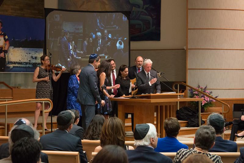 Tour de Rudolph -- Retirement tribute for Rabbi Bill Rudolph, Congregation Beth El, Bethesda, MD, May 17, 2015