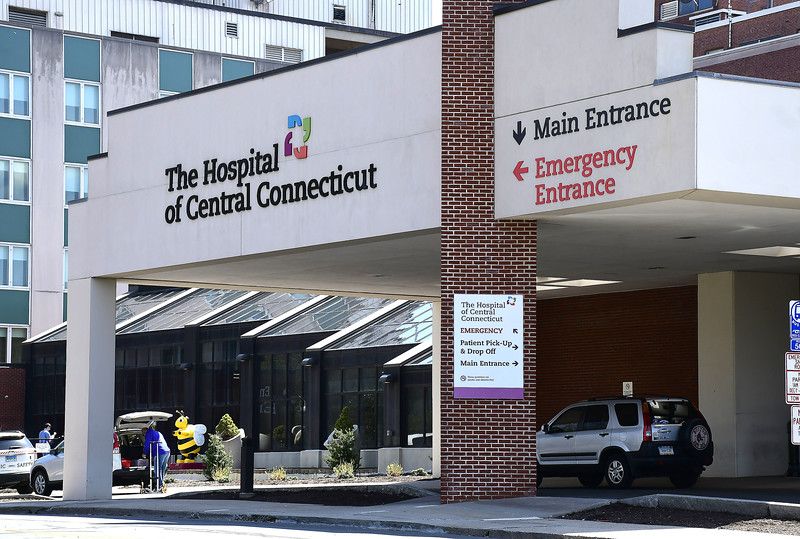 4/7/2020 Mike Orazzi   Staff The Hospital of Central Connecticut in New Britain.