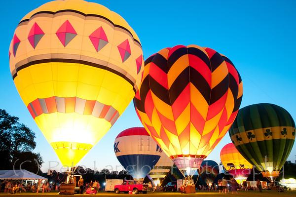2012 31st Annual Pittsfield Rotary Hot Air Balloon Rally