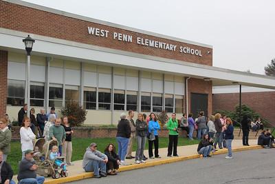 Student Halloween Parade, Elementary School, TASD, West Penn (10-26-2012)