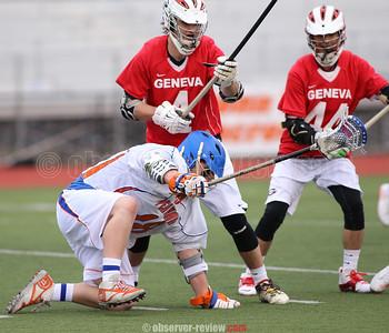 Penn Yan Lacrosse 4-7-16