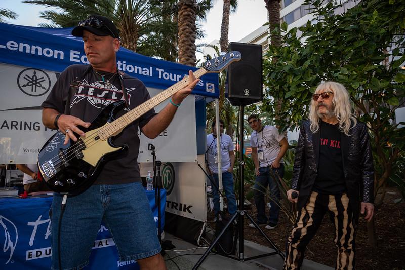2019_01_26, Anaheim, Bass Off, CA, Derek Smalls, NAMM, Yamaha