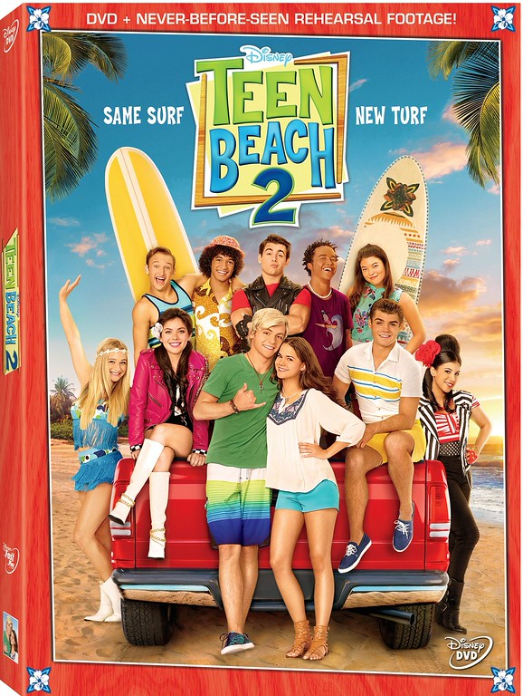 TEEN BEACH 2 available now on DVD ahead of Disney Channel debut tonight