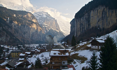 Murren and surroundings