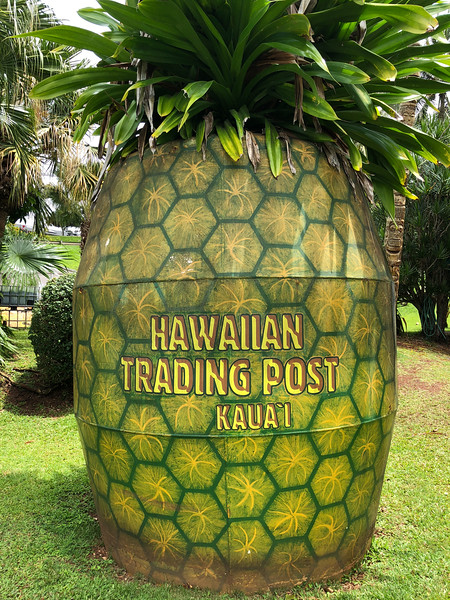 The Hawaiian Trading Post near Lawai, Kauai