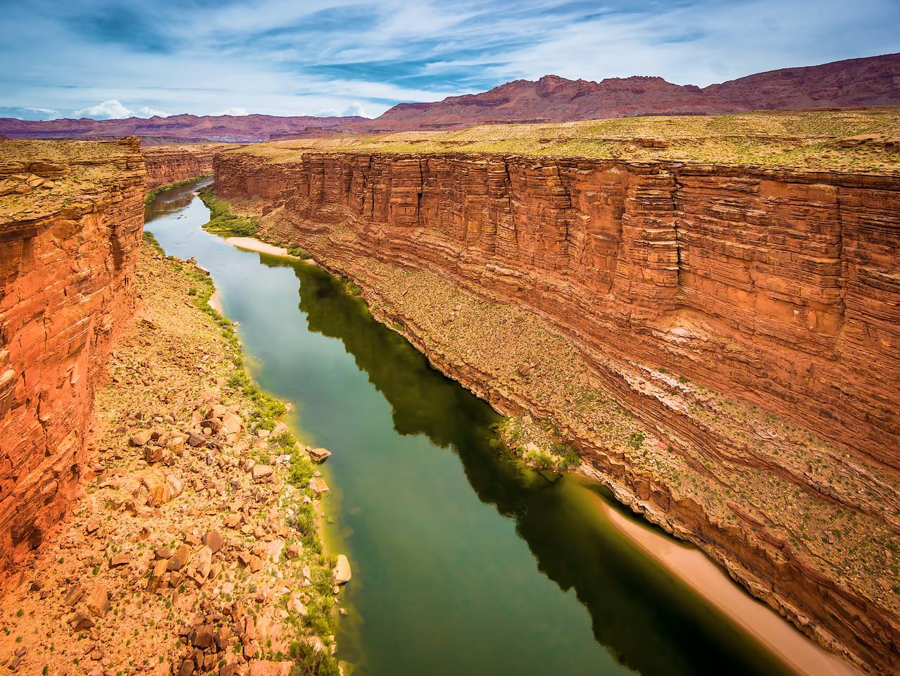 Travel_Photography_Blog_Arizona_Marble_Canyon_Green_Water