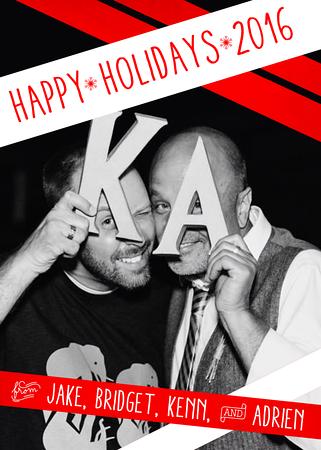 Kenn and Adrien Christmas Card 2016