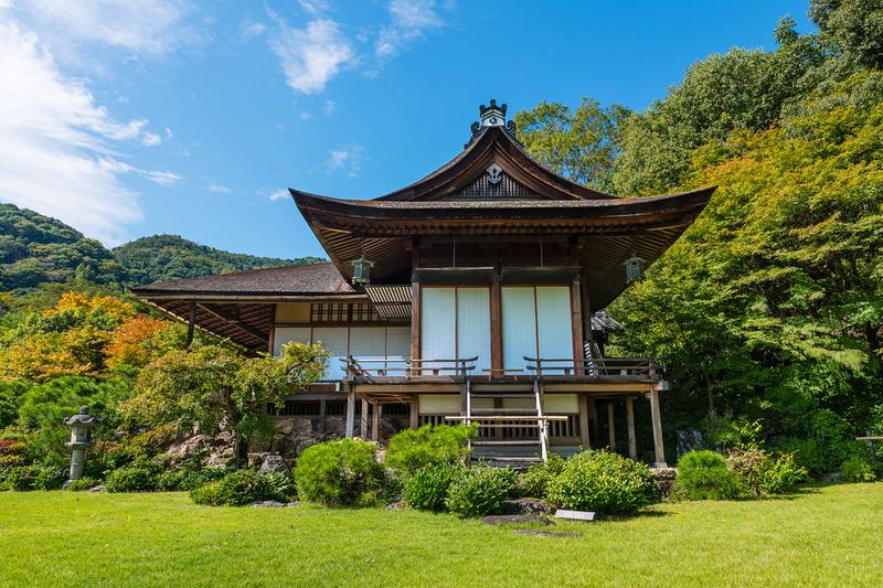 Okochi Sanso villa in Arashiyama. Editorial credit: Andres Garcia Martin / Shutterstock.com