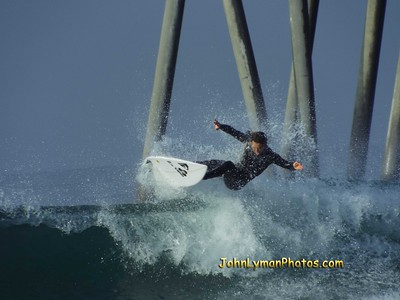 2/19/20 * DAILY SURFING PHOTOS * H.B. PIER