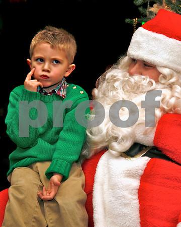 """Christmas, Santa """"Thinking?"""