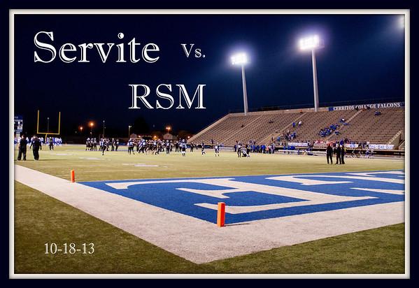 10-18-13 Servite Varsity vs RSM