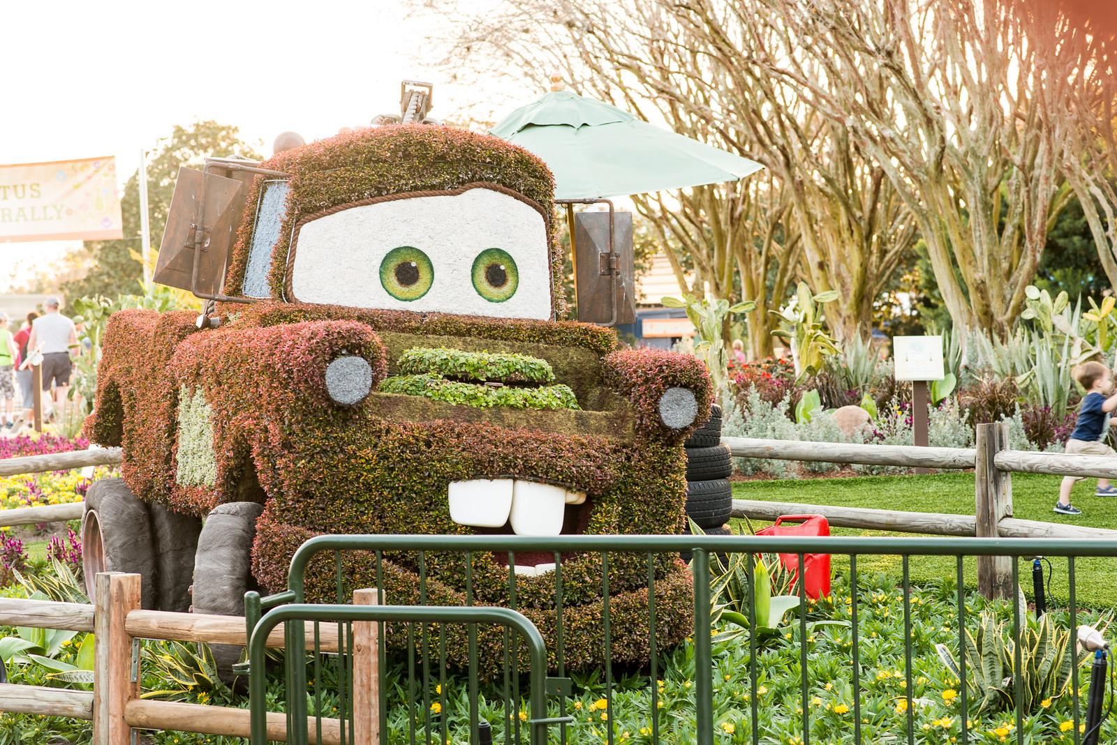 Mater Topiary - Epcot Flower & Garden Festival 2016