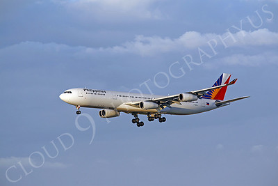 Philippines Airline Airbus A340 Airliner Pictures