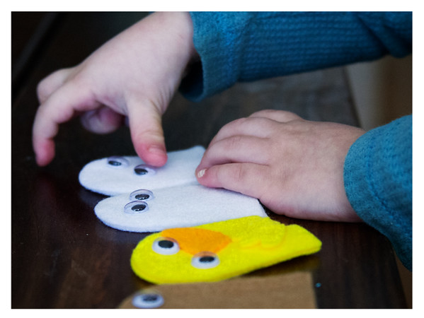 August 2014 Kiwi Crate: My Barnyard Friends, Puppet Assembly Line