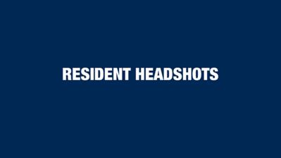 Resident Headshots