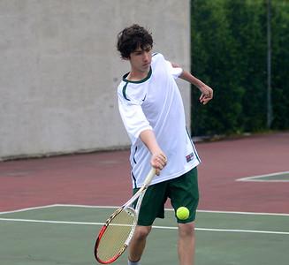 2014 BBA Varsity Boys Tennis Playdown vs MMU photos by Gary Baker