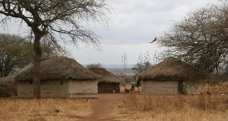 Outside Tarangire National Park, on the road to the Ngorongoro Crater