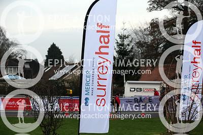 Surrey Half Marathon 2017 1