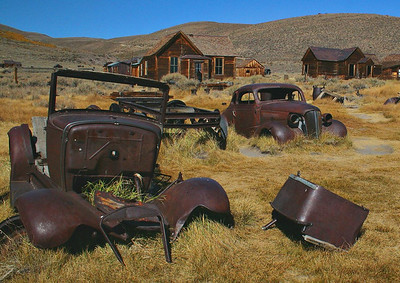 Bodie Calif. Ghost Town and Twin Lakes Cal.