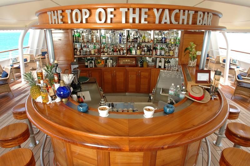 SeaDream Yacht Club - Top of the Yacht Bar