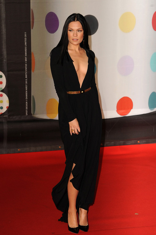 . Jessie J attends the Brit Awards 2013 at the 02 Arena on February 20, 2013 in London, England.  (Photo by Eamonn McCormack/Getty Images)