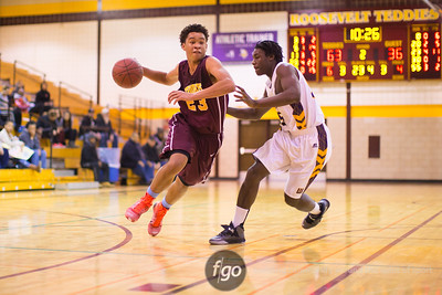 2-28-15 St. Paul Washington Technology v Minneapolis Roosevelt Basketball Call 2A Section 4 Quarterfinals