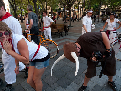 July 16 2009 -- Running of the Bulls Costume Ride