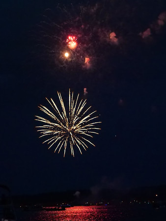Fireworks, July 3, Loch Lomond