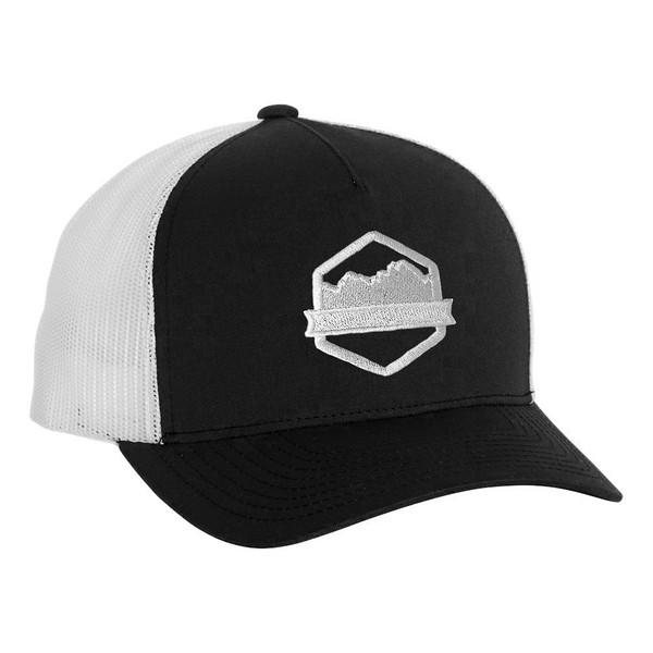 Organ Mountain Outfitters - Outdoor Apparel - Hat - Logo Five-Panel Trucker Cap - Black White.jpg