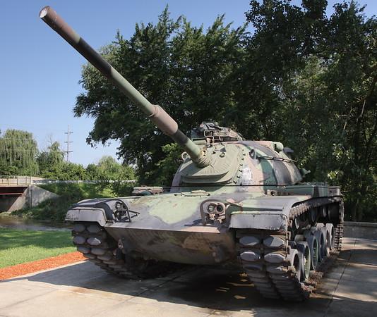Glenwood, IL Veterans Park M60A1