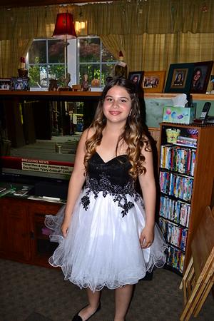 Bryanna's 8th Grade prom