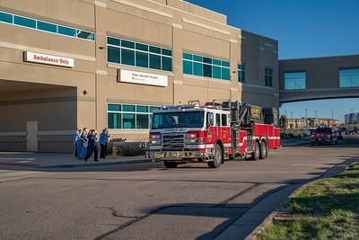 Parker Hospital Thank You Parade