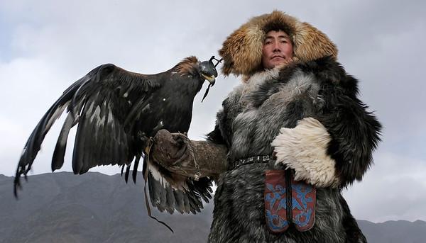 Golden Eagle Festival, Mongolia 2017