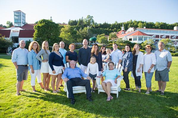 Chris Family Mackinac Island family Photography