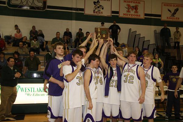 Vermilion Boys Basketball District Final, March 14, 2009