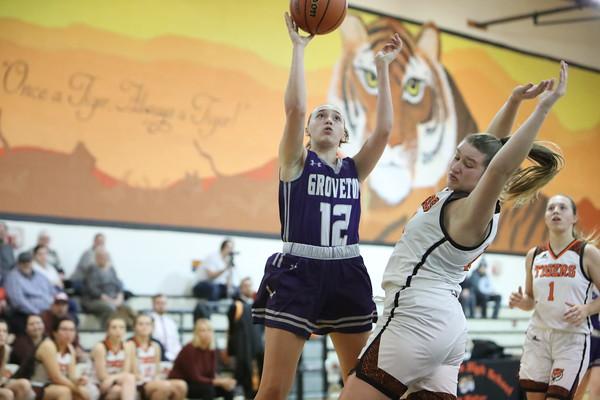 Groveton Girls Basketball at Farmington (Jan. 10, 2020)