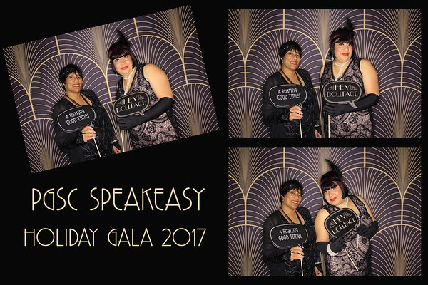 """PGSC """"Speakeasy Holiday Party 2017"""""""