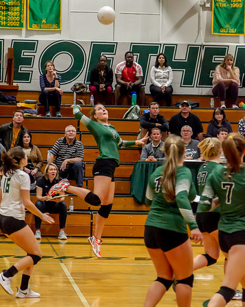 Game two, Set five: Vashon Island High School Varsity Volleyball v Annie Wright 09/26/2018