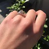 1.11ct Old European Cut Diamond Filigree Ring 30