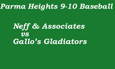 170608 Parma Heights Boy's 9-10 Baseball-Powers  Field