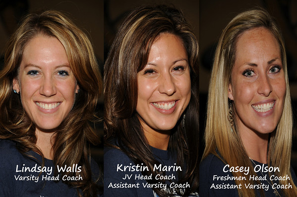 2009 Cactus Volleyball Coaches