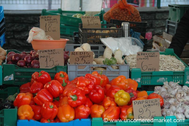 Tallinn's Central Market - Estonia