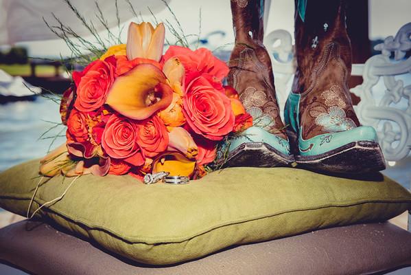 Caudle-Hundley wedding