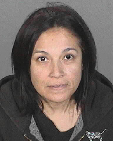. Sandra Jaimez, 45, of Downey is accused of helping her boyfriend,