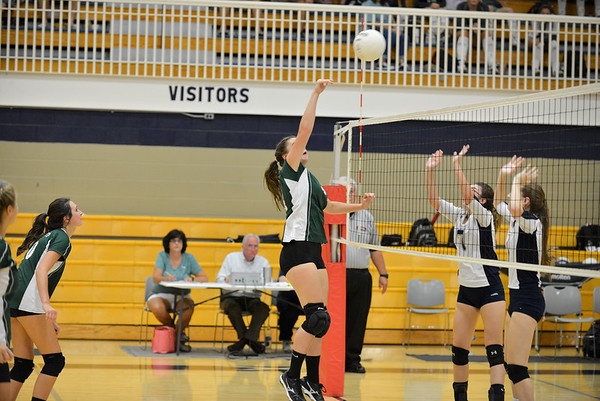 Hokes Bluff v. Jacksonville Volleyball, September 15, 2016