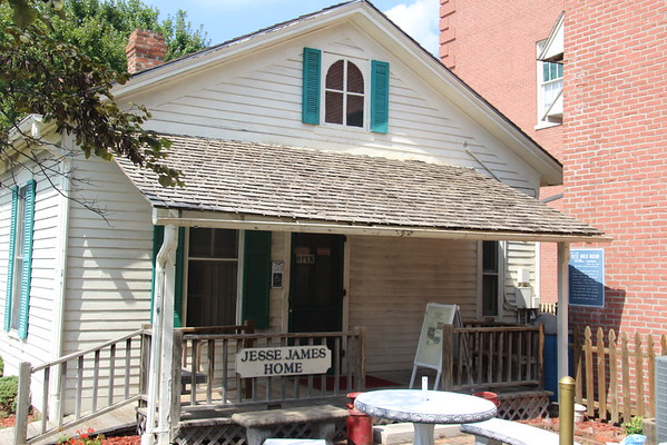 Jesse James House & Murder Site