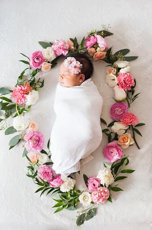 Savannah Esther Rose Newborn