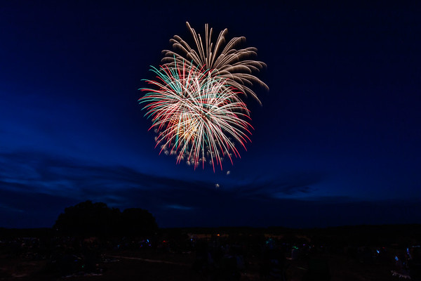 Jason Isaac's Fire in the Sky Fourth of July Fireworks - July 4, 2017