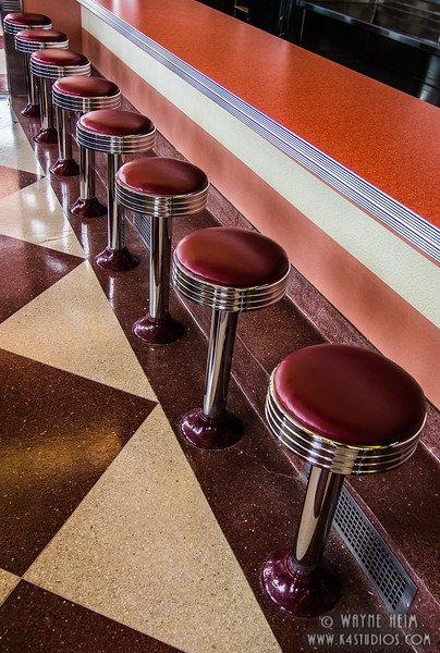 Lunch Counter     Photography by Wayne Heim