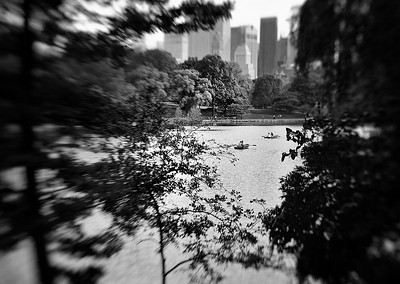 Lensbaby in Central Park
